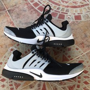 Nike Air Presto Men's Shoes - Black/White/Gray